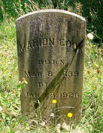 COOK, FRANCIS MARION - Marion County, Oregon   FRANCIS MARION COOK - Oregon Gravestone Photos