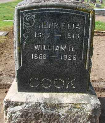 COOK, WILLIAM H - Marion County, Oregon | WILLIAM H COOK - Oregon Gravestone Photos