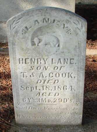COOK, HENRY LANE - Marion County, Oregon | HENRY LANE COOK - Oregon Gravestone Photos