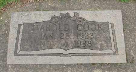 COOK, HAROLD - Marion County, Oregon | HAROLD COOK - Oregon Gravestone Photos