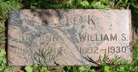COOK, WILLIAM S - Marion County, Oregon | WILLIAM S COOK - Oregon Gravestone Photos