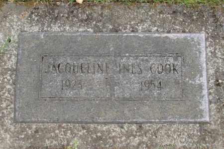 COOK, JACQUELINE INES - Marion County, Oregon | JACQUELINE INES COOK - Oregon Gravestone Photos