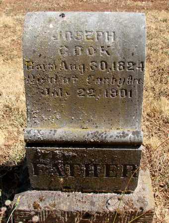 COOK, JOSEPH - Marion County, Oregon | JOSEPH COOK - Oregon Gravestone Photos