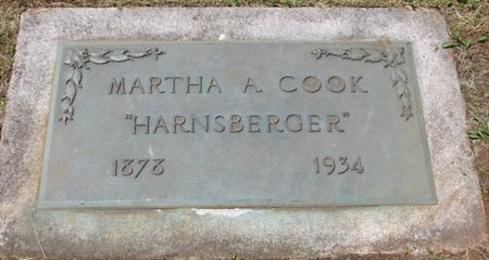 COOK, MARTHA ANNA - Marion County, Oregon | MARTHA ANNA COOK - Oregon Gravestone Photos