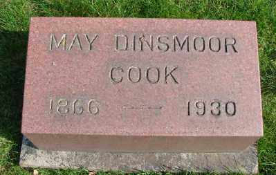 COOK, MAY - Marion County, Oregon | MAY COOK - Oregon Gravestone Photos