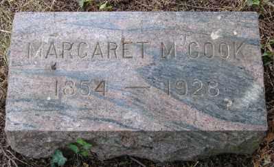 COOK, MARGARET M - Marion County, Oregon | MARGARET M COOK - Oregon Gravestone Photos
