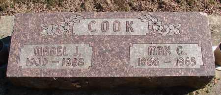 COOK, MABEL JOSEPHINE - Marion County, Oregon | MABEL JOSEPHINE COOK - Oregon Gravestone Photos