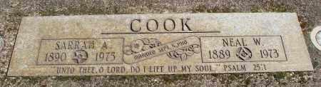 COOK, NEAL W - Marion County, Oregon | NEAL W COOK - Oregon Gravestone Photos
