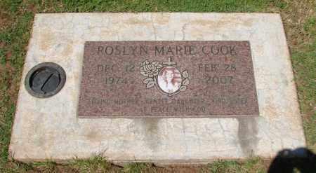 COOK, ROSLYN MARIE - Marion County, Oregon | ROSLYN MARIE COOK - Oregon Gravestone Photos