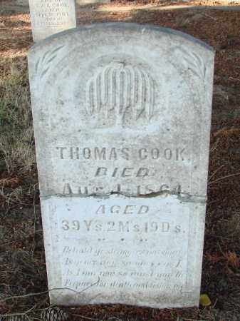 COOK, THOMAS - Marion County, Oregon | THOMAS COOK - Oregon Gravestone Photos