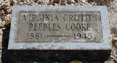 GRIFFITH COOKE, VIRGINIA - Marion County, Oregon | VIRGINIA GRIFFITH COOKE - Oregon Gravestone Photos