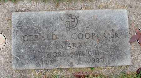 COOPER (WWII), GERALD G., SR - Marion County, Oregon | GERALD G., SR COOPER (WWII) - Oregon Gravestone Photos
