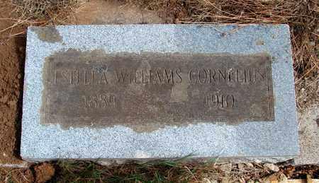 WILLIAMS CORNELIUS, ESTELLA - Marion County, Oregon | ESTELLA WILLIAMS CORNELIUS - Oregon Gravestone Photos