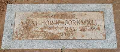 HOWIE CORNWALL, VICKI - Marion County, Oregon | VICKI HOWIE CORNWALL - Oregon Gravestone Photos