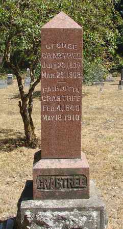CRABTREE, FAIRLOTTA - Marion County, Oregon | FAIRLOTTA CRABTREE - Oregon Gravestone Photos