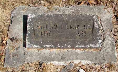 CRABTREE, WILLIAM D - Marion County, Oregon   WILLIAM D CRABTREE - Oregon Gravestone Photos