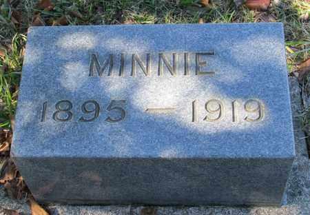 VAN CLEAVE, MINNIE BELLE - Marion County, Oregon | MINNIE BELLE VAN CLEAVE - Oregon Gravestone Photos