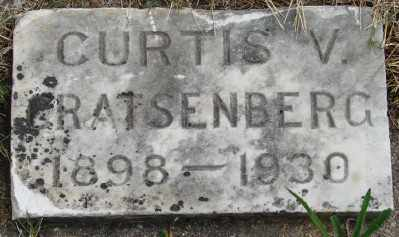 CRATSENBERG, CURTIS V - Marion County, Oregon | CURTIS V CRATSENBERG - Oregon Gravestone Photos