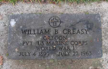 CREASY (WWI), WILLIAM B - Marion County, Oregon | WILLIAM B CREASY (WWI) - Oregon Gravestone Photos