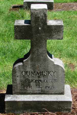 CUMMISKY, JOHN - Marion County, Oregon | JOHN CUMMISKY - Oregon Gravestone Photos