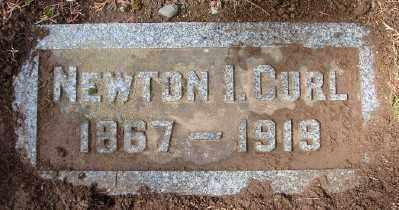 CURL, NEWTON ISIDOR - Marion County, Oregon | NEWTON ISIDOR CURL - Oregon Gravestone Photos