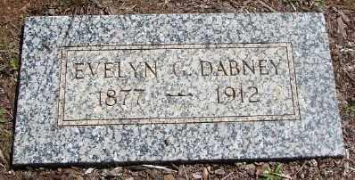 GEER DABNEY, EVELYN V - Marion County, Oregon | EVELYN V GEER DABNEY - Oregon Gravestone Photos