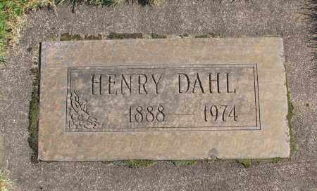 DAHL, HENRY - Marion County, Oregon | HENRY DAHL - Oregon Gravestone Photos
