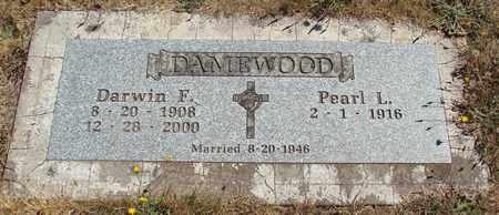 DAMEWOOD, PEARL L - Marion County, Oregon | PEARL L DAMEWOOD - Oregon Gravestone Photos