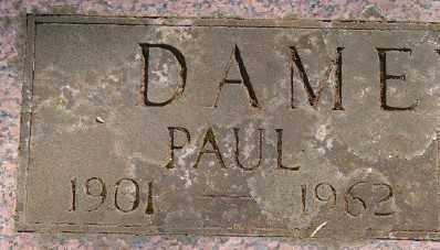 DAMEWOOD, PAUL GANT - Marion County, Oregon | PAUL GANT DAMEWOOD - Oregon Gravestone Photos