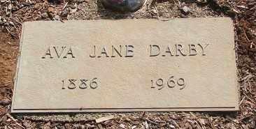 DARBY, AVA JANE - Marion County, Oregon   AVA JANE DARBY - Oregon Gravestone Photos