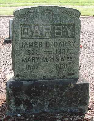 DARBY, MARY MINERVA - Marion County, Oregon | MARY MINERVA DARBY - Oregon Gravestone Photos