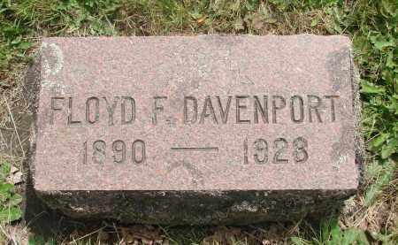 DAVENPORT, FLOYD F - Marion County, Oregon | FLOYD F DAVENPORT - Oregon Gravestone Photos