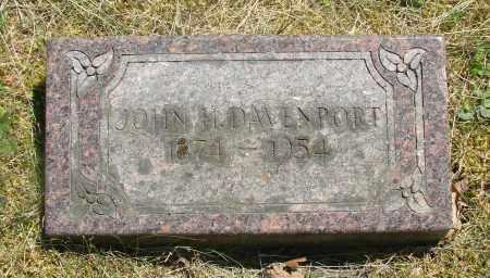 DAVENPORT, JOHN H - Marion County, Oregon | JOHN H DAVENPORT - Oregon Gravestone Photos