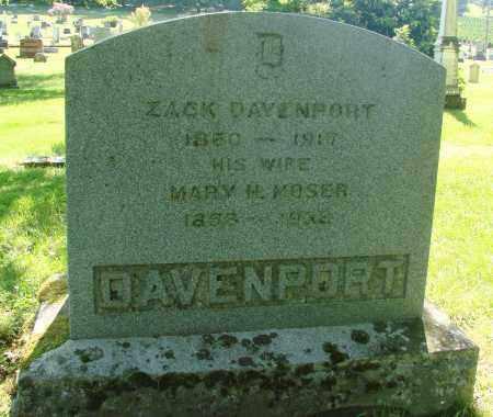 DAVENPORT, MARY M - Marion County, Oregon | MARY M DAVENPORT - Oregon Gravestone Photos