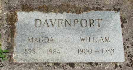 DAVENPORT, WILLIAM - Marion County, Oregon | WILLIAM DAVENPORT - Oregon Gravestone Photos
