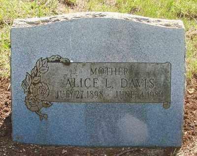 KUHN DAVIS, ALICE L - Marion County, Oregon | ALICE L KUHN DAVIS - Oregon Gravestone Photos