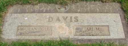 DAVIS, W JEAN - Marion County, Oregon | W JEAN DAVIS - Oregon Gravestone Photos
