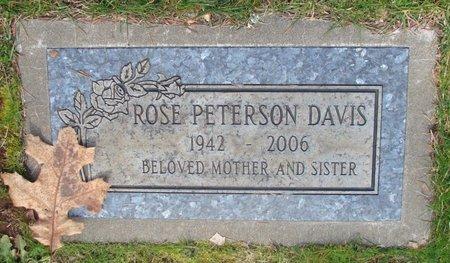 PETERSON, ROSE ELLEN - Marion County, Oregon   ROSE ELLEN PETERSON - Oregon Gravestone Photos