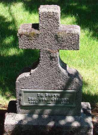 DE BRUYN, GISBERT - Marion County, Oregon   GISBERT DE BRUYN - Oregon Gravestone Photos