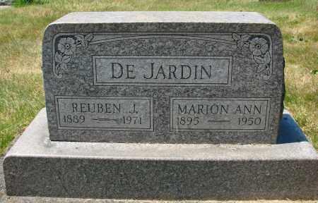 DE JARDIN, MARION ANN - Marion County, Oregon | MARION ANN DE JARDIN - Oregon Gravestone Photos