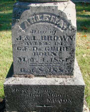 BROWN, ARLENA H - Marion County, Oregon | ARLENA H BROWN - Oregon Gravestone Photos