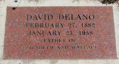 DELANO, DAVID - Marion County, Oregon | DAVID DELANO - Oregon Gravestone Photos