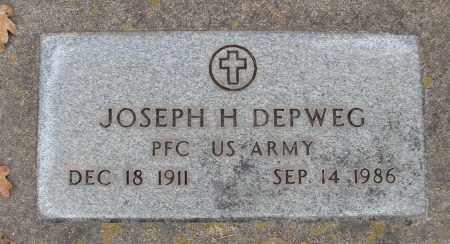 DEPWEG (SERV), JOSEPH H - Marion County, Oregon | JOSEPH H DEPWEG (SERV) - Oregon Gravestone Photos