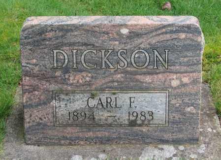 DICKSON, CARL F - Marion County, Oregon | CARL F DICKSON - Oregon Gravestone Photos