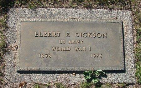 DICKSON, ELBERT E - Marion County, Oregon | ELBERT E DICKSON - Oregon Gravestone Photos