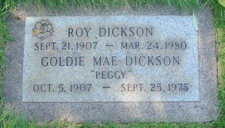 DICKSON, GOLDIE MAE - Marion County, Oregon   GOLDIE MAE DICKSON - Oregon Gravestone Photos