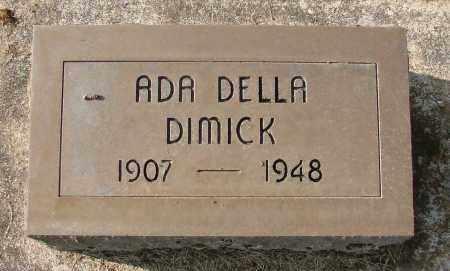 DIMICK, ADA DELLA - Marion County, Oregon   ADA DELLA DIMICK - Oregon Gravestone Photos