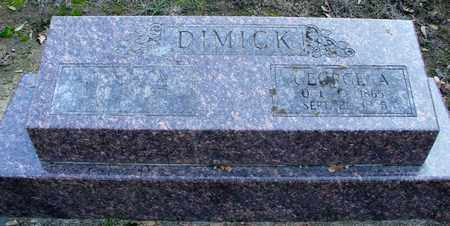 DIMICK, GEORGE A - Marion County, Oregon | GEORGE A DIMICK - Oregon Gravestone Photos