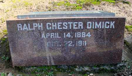 DIMICK, RALPH CHESTER - Marion County, Oregon | RALPH CHESTER DIMICK - Oregon Gravestone Photos
