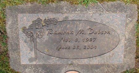 DOBSON, RAMONA M - Marion County, Oregon   RAMONA M DOBSON - Oregon Gravestone Photos